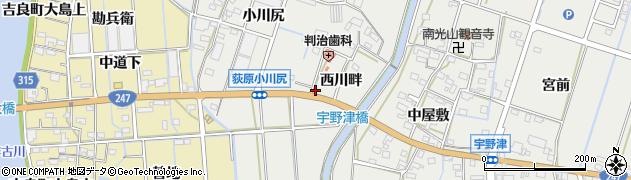 天坊周辺の地図