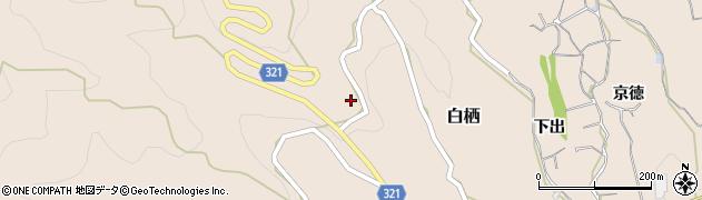 毘沙門寺周辺の地図