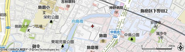 兵庫県姫路市飾磨区玉地周辺の地図