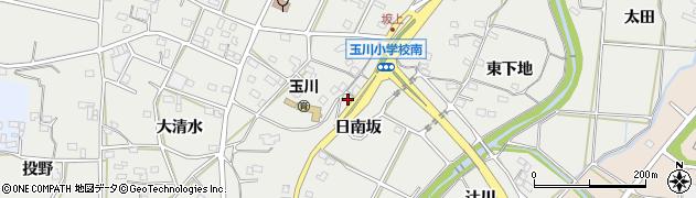 愛知県豊橋市石巻本町(日南坂)周辺の地図