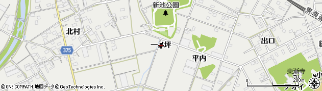 愛知県豊川市伊奈町(一ノ坪)周辺の地図