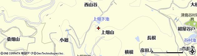 愛知県西尾市東幡豆町(東山谷)周辺の地図