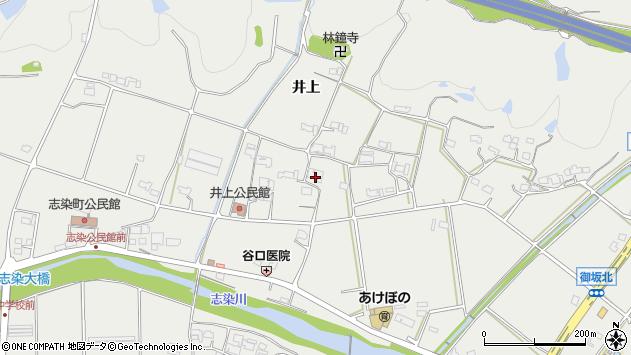 〒673-0512 兵庫県三木市志染町井上の地図