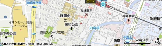 兵庫県姫路市飾磨区(栄町)周辺の地図
