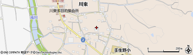 三重県伊賀市川東周辺の地図