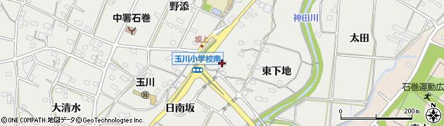 愛知県豊橋市石巻本町(西下地)周辺の地図