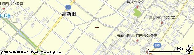 静岡県焼津市高新田周辺の地図