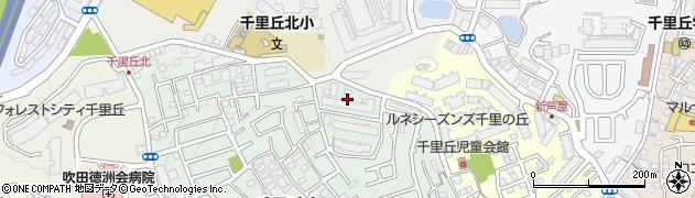 北摂マンション周辺の地図