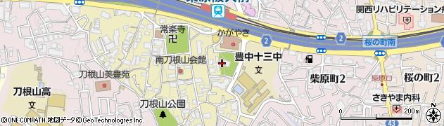 梅林禅寺周辺の地図