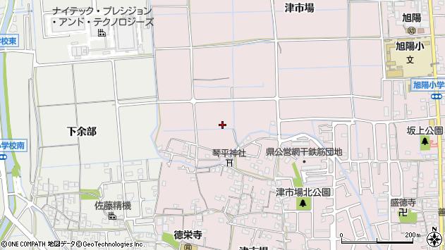 〒671-1224 兵庫県姫路市網干区津市場の地図
