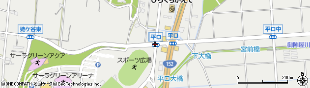 平口周辺の地図