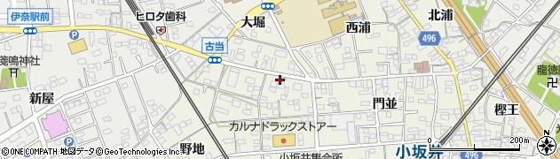ちゅうぼう周辺の地図