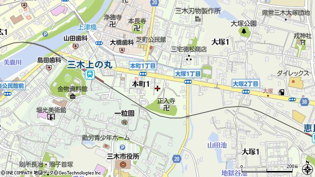 〒673-0431 兵庫県三木市本町の地図