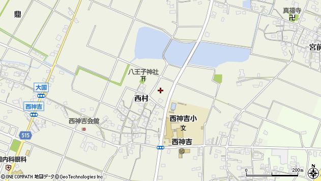 〒675-0042 兵庫県加古川市西神吉町西村の地図