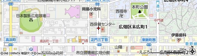 兵庫県姫路市広畑区正門通周辺の地図