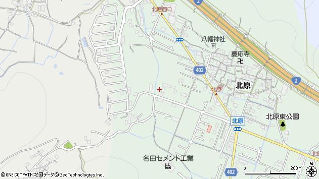 〒672-8002 兵庫県姫路市北原の地図