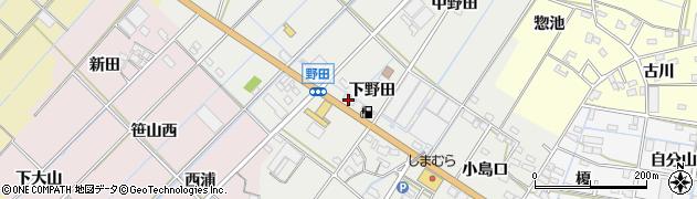 カネキチ本店周辺の地図