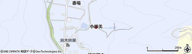 愛知県西尾市西幡豆町(小操美)周辺の地図