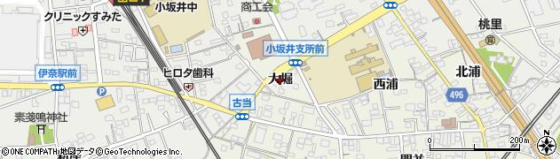 愛知県豊川市小坂井町(大堀)周辺の地図