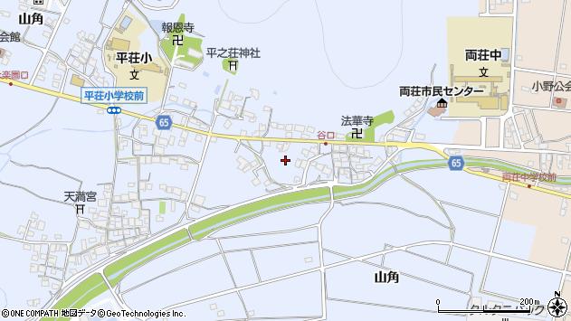 〒675-1221 兵庫県加古川市平荘町山角の地図