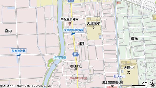 〒671-1221 兵庫県姫路市網干区田井の地図