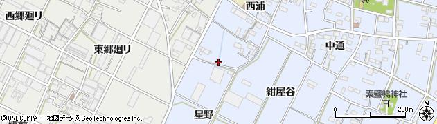 愛知県豊橋市下条東町(池南)周辺の地図