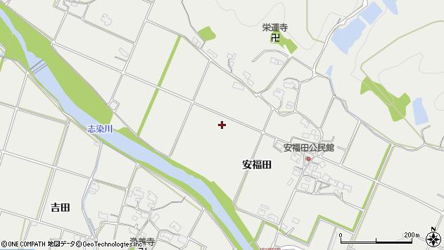 〒673-0502 兵庫県三木市志染町安福田の地図