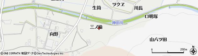 愛知県豊橋市石巻本町(三ノ輪)周辺の地図