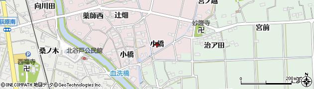 愛知県西尾市吉良町饗庭(小橋)周辺の地図