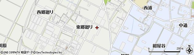 愛知県豊橋市下条西町周辺の地図