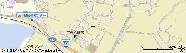 静岡県浜松市北区三ヶ日町宇志周辺の地図