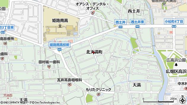 〒671-1142 兵庫県姫路市大津区北天満町の地図