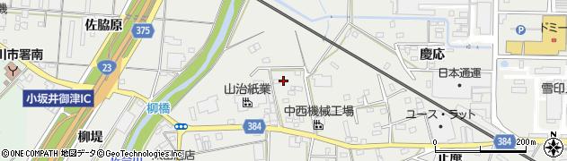 愛知県豊川市伊奈町(並松)周辺の地図