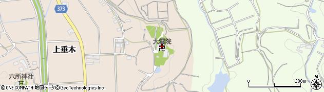大雲院周辺の地図
