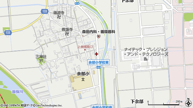 〒671-1262 兵庫県姫路市余部区上余部の地図