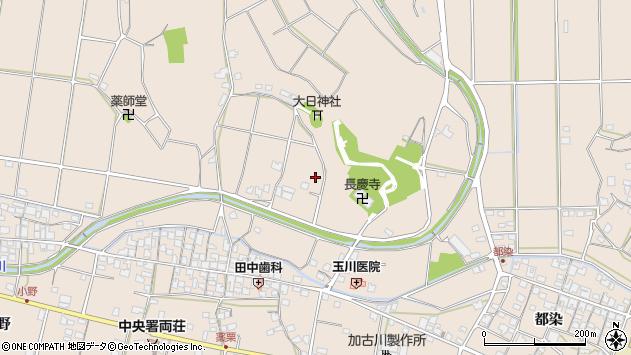 〒675-1217 兵庫県加古川市上荘町薬栗の地図