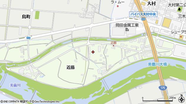 〒673-0451 兵庫県三木市別所町近藤の地図