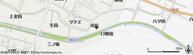 愛知県豊橋市石巻本町(川長)周辺の地図