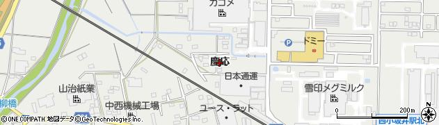 愛知県豊川市伊奈町(慶応)周辺の地図