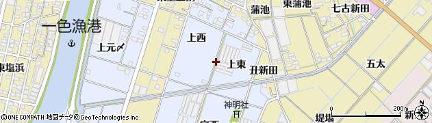 愛知県西尾市一色町藤江周辺の地図