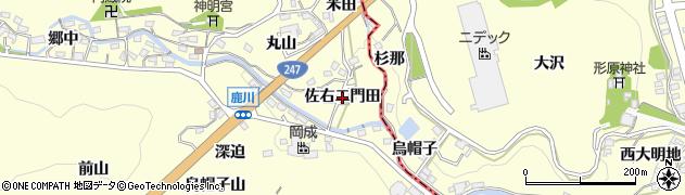 愛知県西尾市東幡豆町(佐右エ門田)周辺の地図