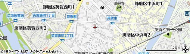 兵庫県姫路市飾磨区英賀東町周辺の地図