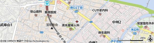 宝塚コートハイツ周辺の地図
