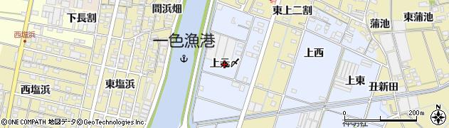 愛知県西尾市一色町藤江(上元〆)周辺の地図