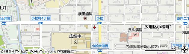 A暮らしの困りごと出張サービス・生活救急車 姫路市・広畑駅前・はりま勝原・受付センター周辺の地図