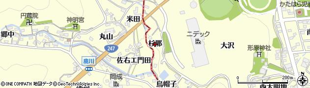 愛知県蒲郡市形原町(杉那)周辺の地図