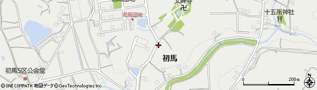 静岡県掛川市初馬周辺の地図