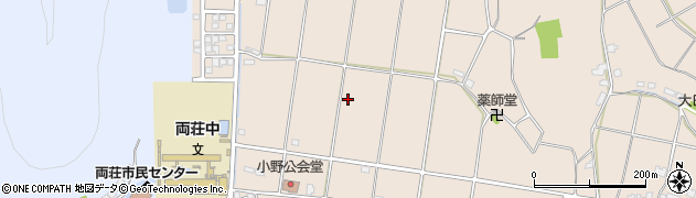 兵庫県加古川市上荘町(小野)周辺の地図