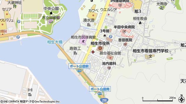 〒678-0031 兵庫県相生市旭の地図