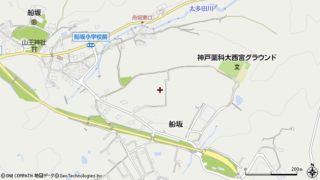 〒651-1423 兵庫県西宮市山口町船坂の地図